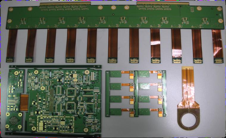 Flex and Rigid Hybrid Board